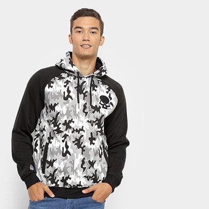 Moletom Red Bull Camuflado Skate Generation Masculina