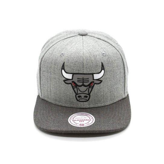 c9438c2dd2537 Boné Mitchell   Ness Mesc Reflec NBA Chicago Bulls - Compre Agora ...