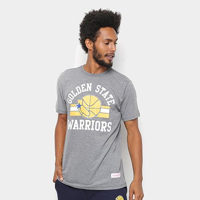Camisa Mitchell & Ness Golden State Warriors Masculina
