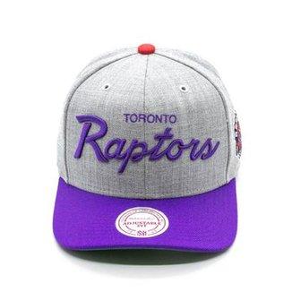 c9eb94ae2a526 Boné Mitchell   Ness Special Script Road Sn NBA Toronto Raptors Aba Curva
