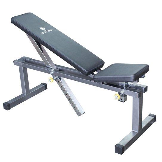 26e4a7984 Banco de Musculação GONEW 1.0 - Cinza