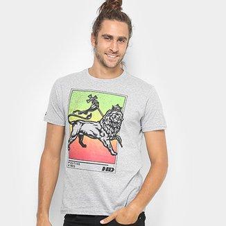 2d153bf941b139 Camiseta HD Est Lion Of Judah Masculina