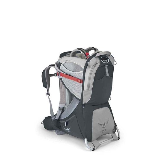 5e6bd5d6e Mochila Para Carregar Criança Osprey Poco Plus - Cinza | Netshoes