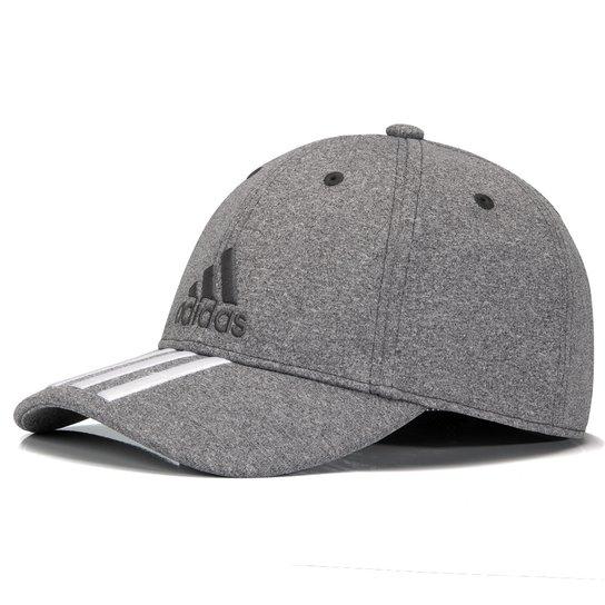 Boné Adidas Ess 3S Melange Cinza - Compre Agora  7ed1561eabb