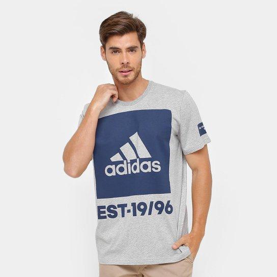 Camiseta Adidas Mc 360 Graus Masculina - Cinza - Compre Agora  b1e0312d78663