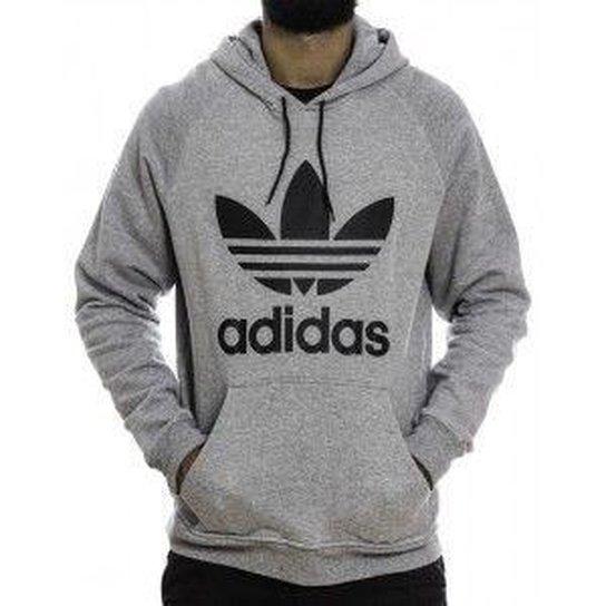 7df5334a0f4 Blusa Moletom Adidas Originals Trefoil - Compre Agora