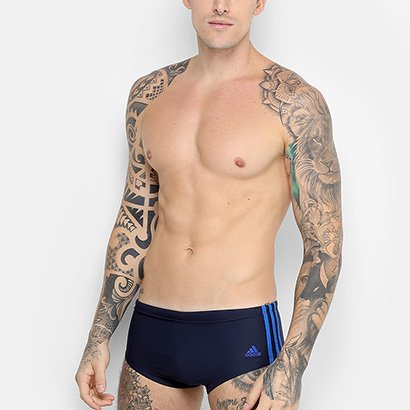 Sunga Adidas 3S Med Masculina