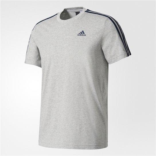 97ee80ea00854 Camiseta Adidas Essentials 3 Stripes - Compre Agora