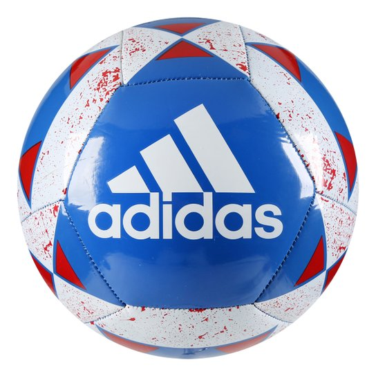 1e45bc6380b24 Bola Futebol Campo Adidas Starlancer V - Azul Royal+Vermelho