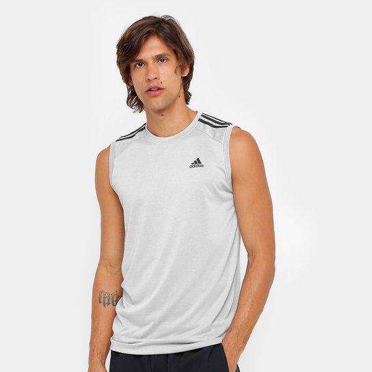Camiseta Regata Adidas Ess 3S Egb Masculina - Compre Agora  174f6c7cc15