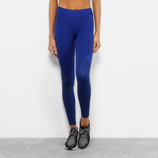 Calça Legging Adidas DNA Alphaskin Sport Feminina - Azul Royal ... e49161d53bab0