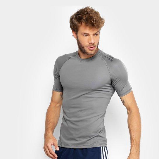 82c6987b4d ... Camiseta Adidas Dna Sprt Ss Masculina - Cinza - Compre Agora Netshoes  ef65668cbfb578 . ...