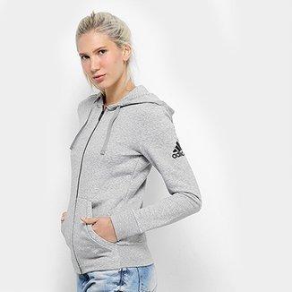 a91d2f017c1 Jaqueta Adidas Ess Solid Fz Feminina