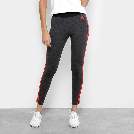 c892a2098b Calça Legging Adidas Essentials 3S Feminina - Compre Agora