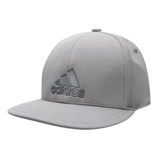 dd6ba016c2e34 Boné Adidas Aba Curva S16 Urban Mesh - Cinza - Compre Agora