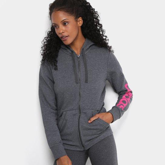 0d2f1093fca Moletom Adidas Essentials Linear c  Capuz Feminino - Compre Agora ...