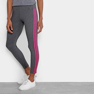Calça Legging Adidas Essential 3S Feminina 469ee03436c