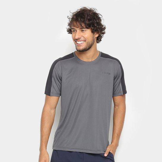 b634c99a019 Camiseta Adidas D2M Masculina - Cinza - Compre Agora