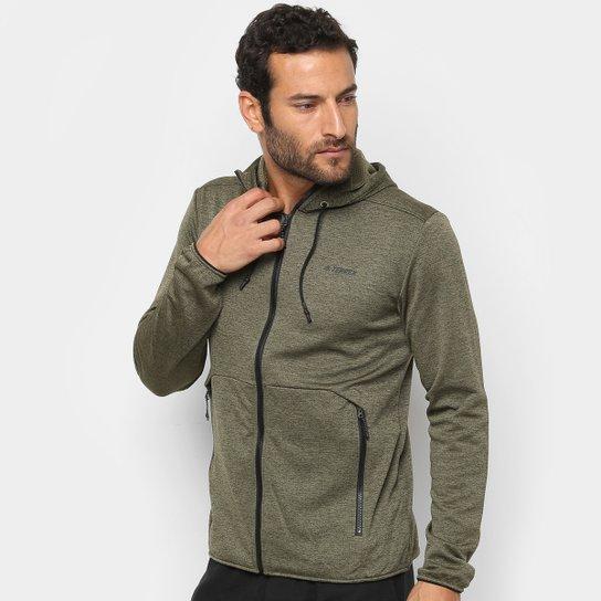 f480edd729a Jaqueta Adidas Climb to City - Verde escuro - Compre Agora