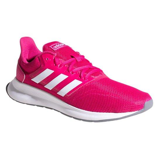 db116f66b60 Tênis Adidas Falcon Feminino - Rosa - Compre Agora