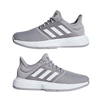 8ee288045a5a1 Tênis Adidas Gamecourt Feminino