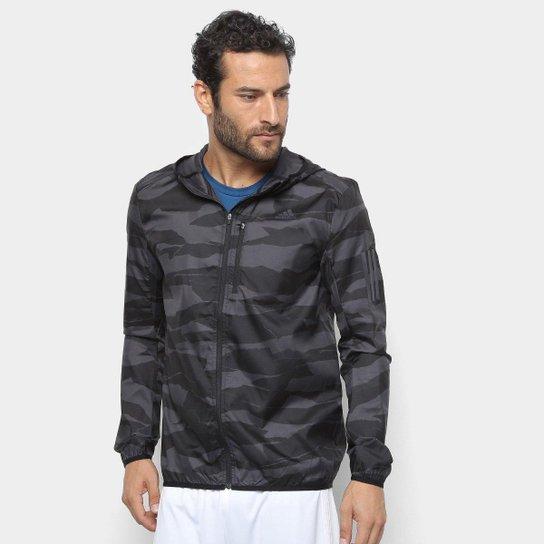 4e34617a3b9 Jaqueta Adidas Response Masculina - Cinza - Compre Agora