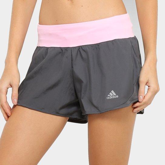 09f092f247d9b Short Adidas Run It Feminino - Cinza | Netshoes