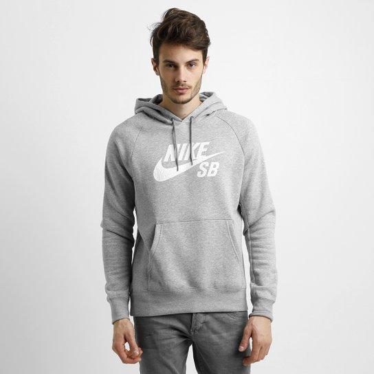 ae108df00b Moletom Nike SB Icon Crackle Po Hoodie c  Capuz Masculino - Compre ...