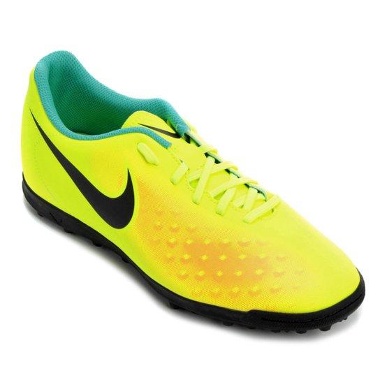 Chuteira Society Nike Magista Ola II TF - Amarelo+Laranja a6cf9965987d0