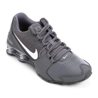 fb0550acdfe Tênis Couro Nike Shox Avenue LTR Masculino