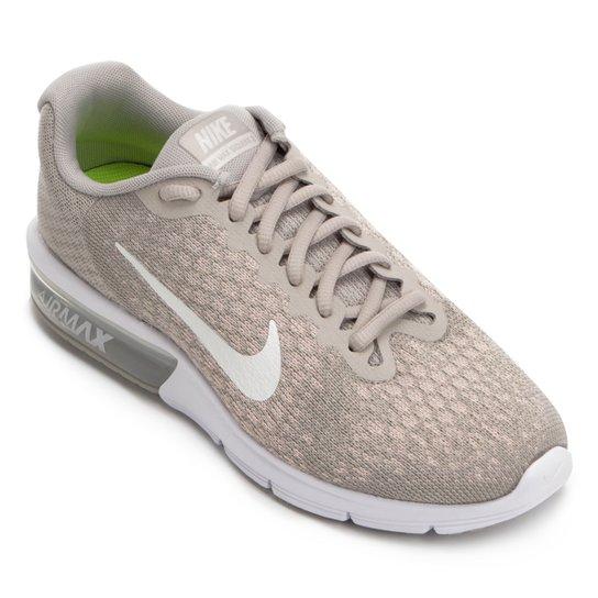 e45c87f79bfe6 Tênis Nike Air Max Sequent 2 Feminino - Cinza - Compre Agora