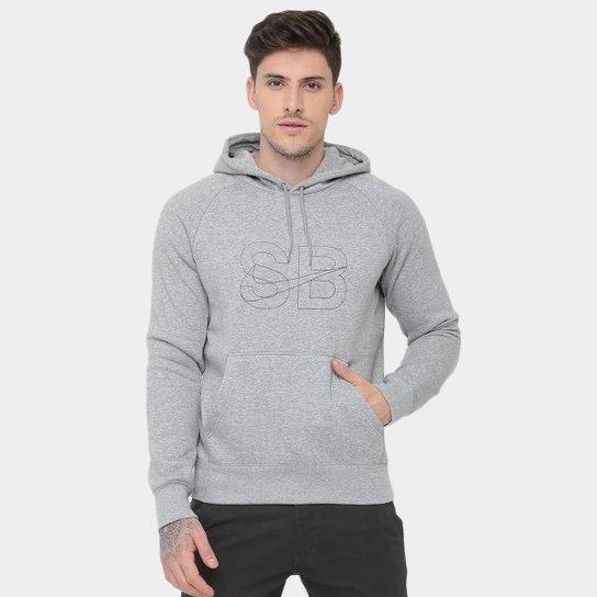 Moletom Nike SB Icon Hoodie Stencil c  Capuz - Compre Agora  02e74c4cc78