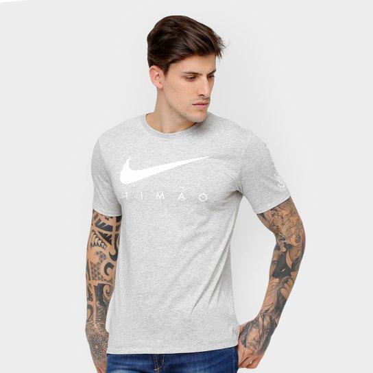 6cafc9eea36e0 Camiseta Corinthians Nike Dry Pre-season Masculina - Compre Agora ...