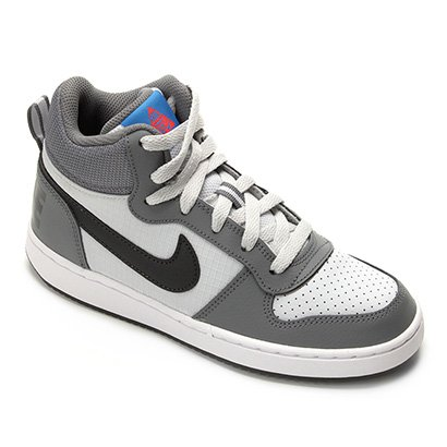 Tênis Infantil Nike Court Borough Mid Masculino