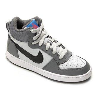 Tênis Infantil Nike Court Borough Mid Masculino 89dd5ae6f97