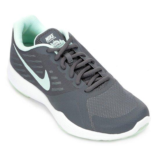 Tênis Nike City Trainer Feminino - Cinza - Compre Agora  c7e41d3be2281