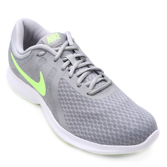 online retailer 581dd b1312 Tênis Nike Revolution 4 Masculino - Cinza   Netshoes