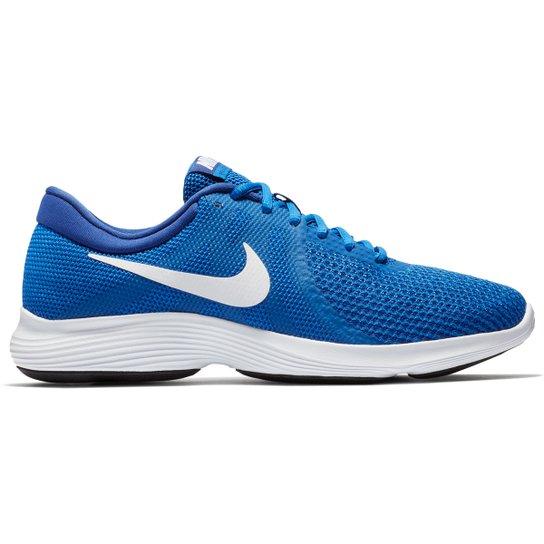 62eeaccf7c017 Tênis Nike Revolution 4 Masculino - Azul Royal - Compre Agora