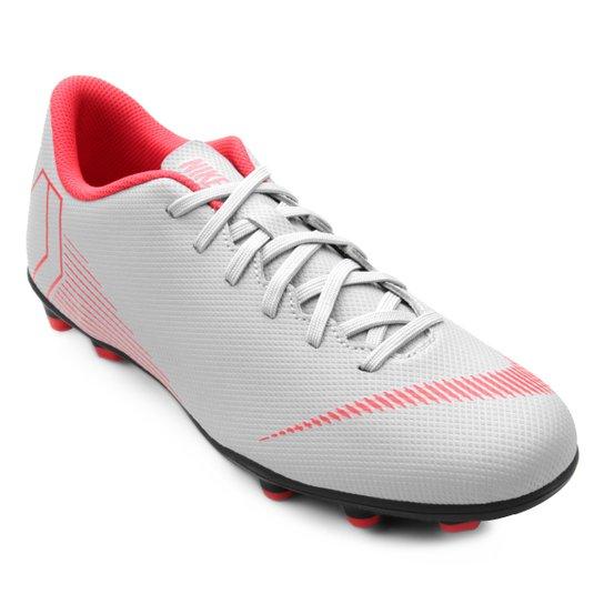 2766d2e20a Chuteira Campo Nike Mercurial Vapor 12 Club - Cinza - Compre Agora ...