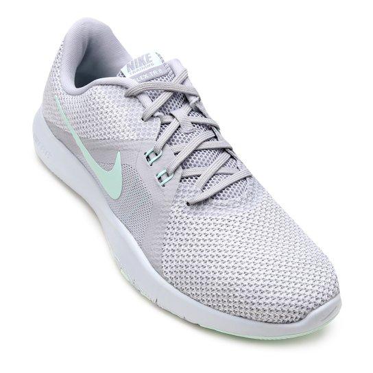 Tenis Nike Flex Trainer 8 Feminino Cinza