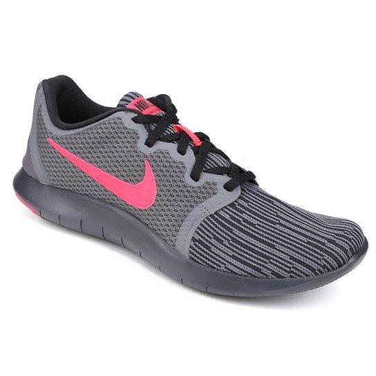 5fc69ac8259bb Tênis Nike Flex Contact 2 Masculino - Cinza e Rosa | Netshoes