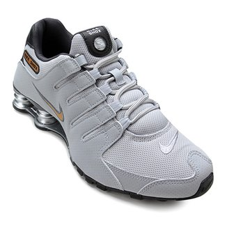 93a902ace86b3 Compre Tenis Nike Shox Junior W Cinza Online