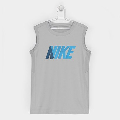 Camiseta Nike Infantil B Dry Top Sl Leg Gfx-892513