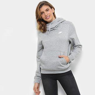 5a6b79a9d Moletom Nike Sportswear Funnel-Neck Feminino