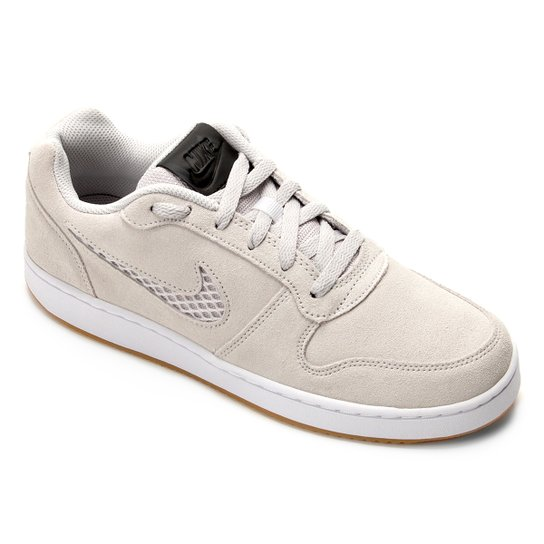 46ad903d87 Tênis Nike Ebernon Low Prem Masculino - Cinza Claro - Compre Agora ...
