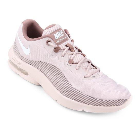 544fa8d85aaef Tênis Nike Air Max Advantage 2 Feminino - Rosa e Bege - Compre Agora ...