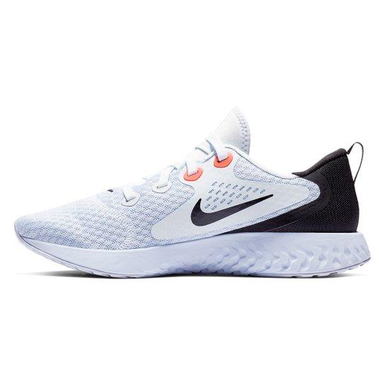 37373f2e00 Tênis Nike Legend React Feminino - Roxo e Preto - Compre Agora ...