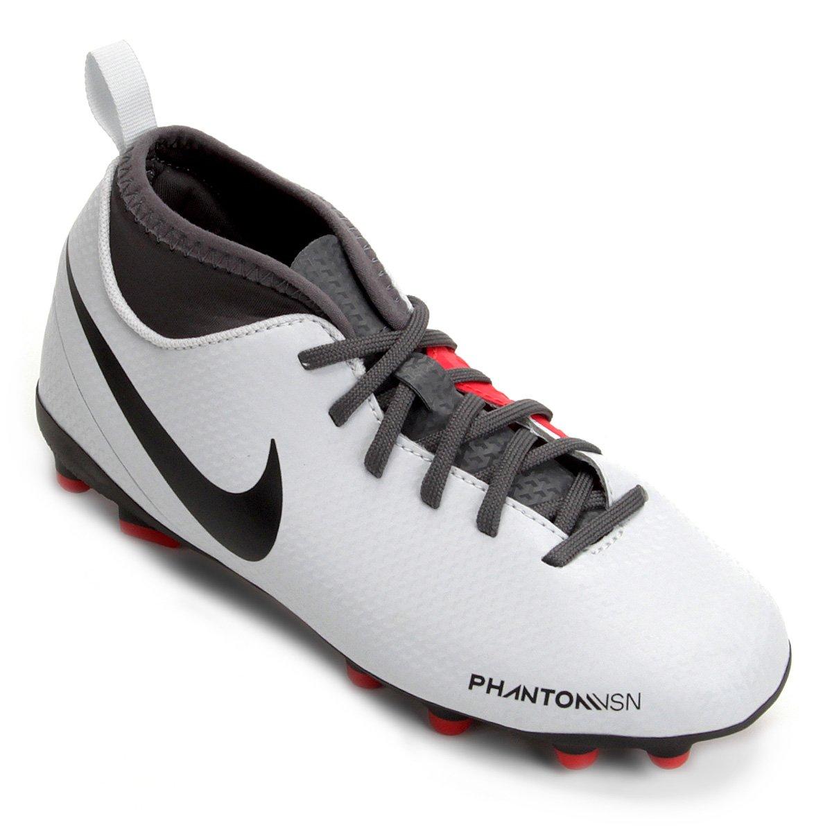 Chuteira Campo Infantil Nike Phantom Vision Club DF FG 2a785b3713f8d