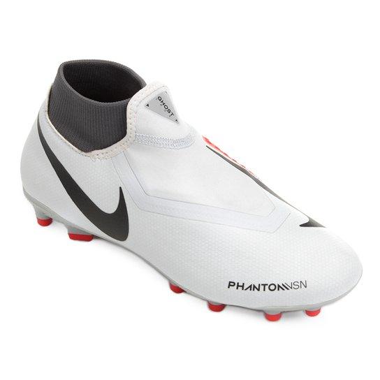 fc74552bd6571 Chuteira Campo Nike Phantom Vision Academy DF FG - Cinza | Netshoes