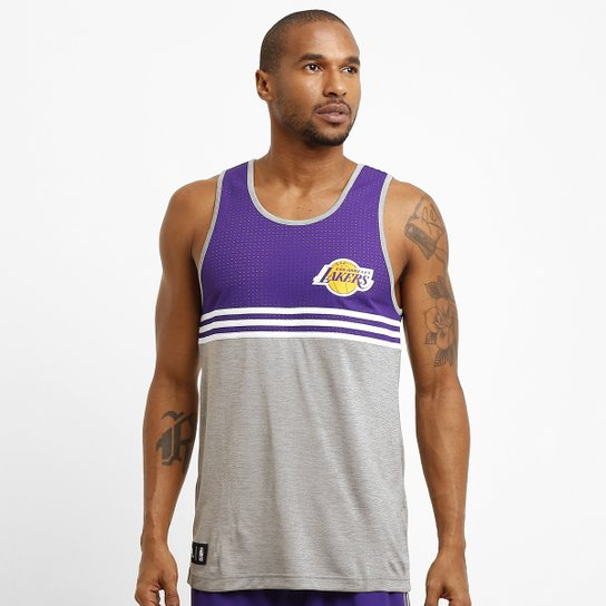 Camiseta Regata Adidas NBA Wntr Los Angeles Lakers Compre Agora Netshoes 318021d7ef9